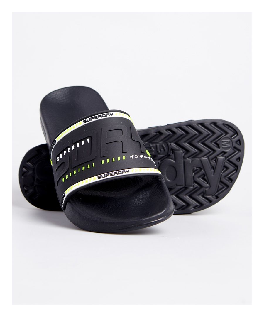 Image for Superdry City Neon Pool Sliders