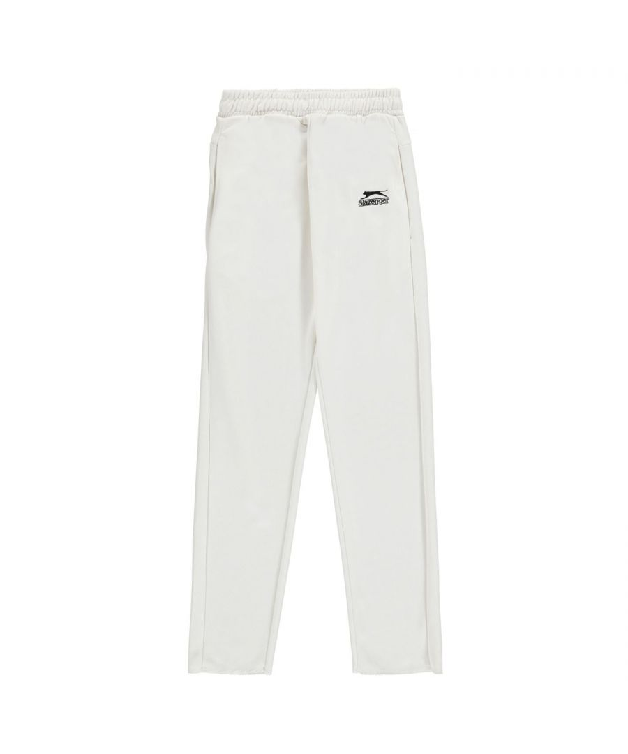 Image for Slazenger Kids Cricket Trousers Pants Bottoms Junior Boys Elasticated Waist