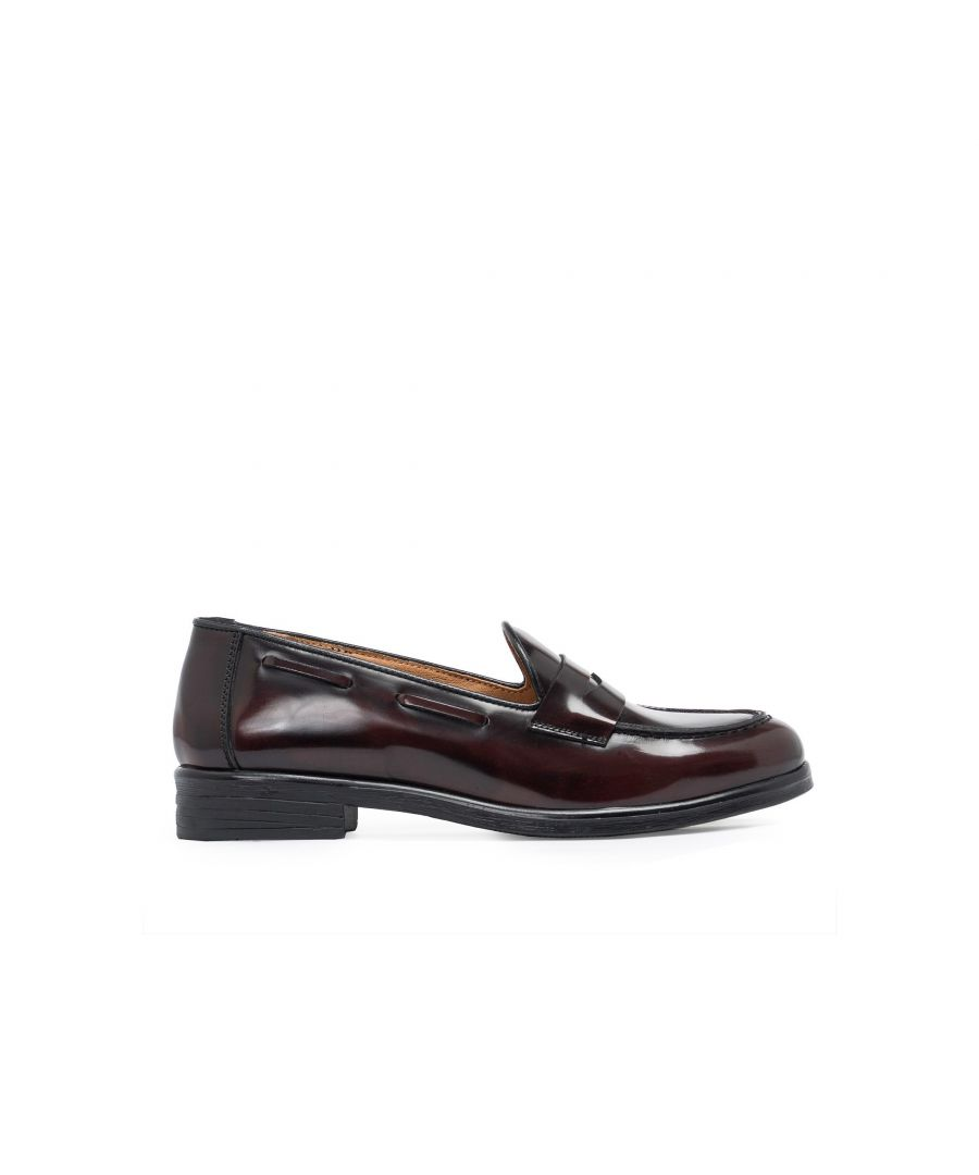 Image for Leather Loafers for Women