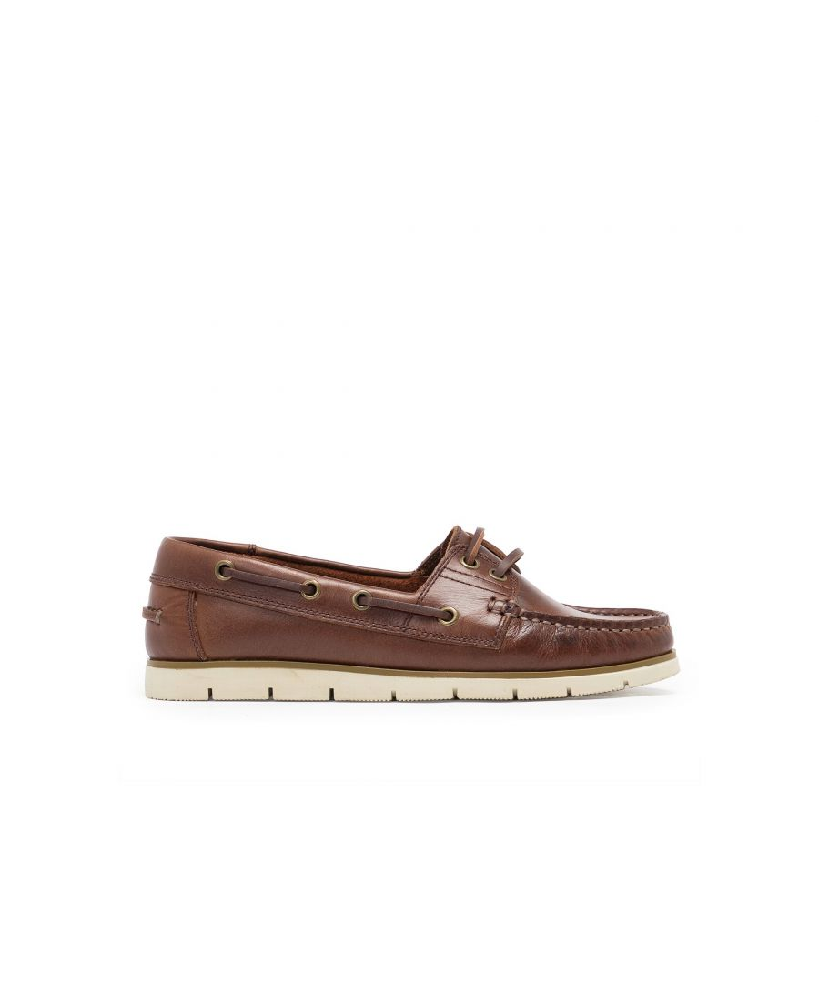 Image for Leather Boat Shoes for Women