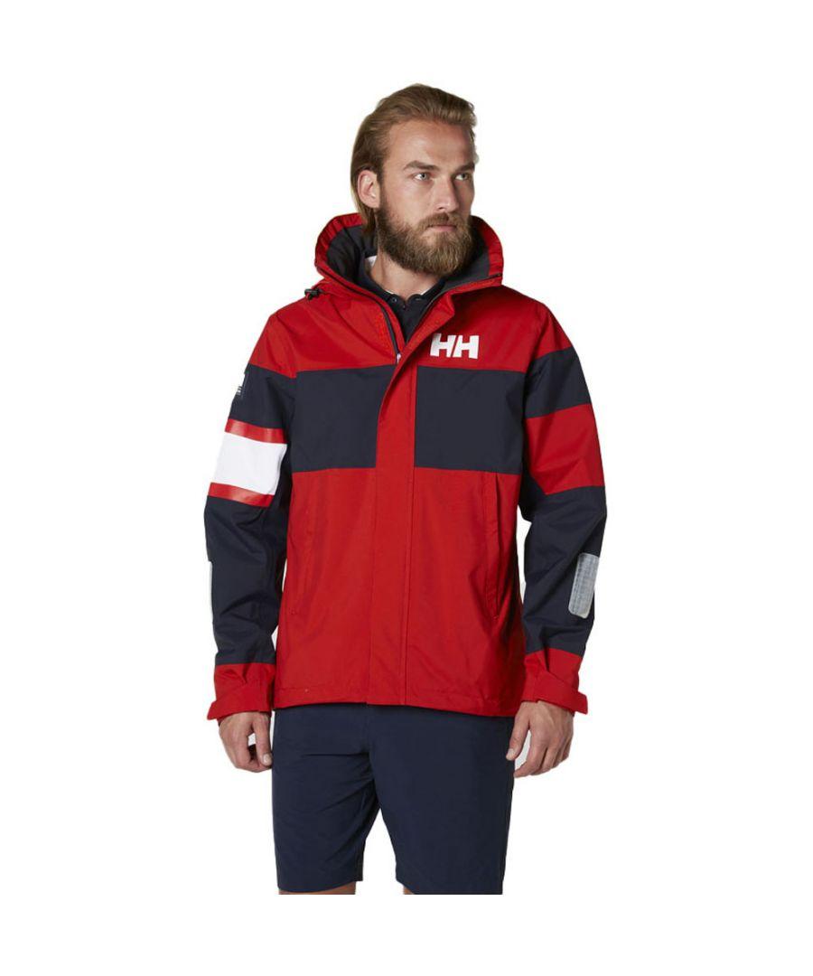 Image for Helly Hansen Mens Salt Light Windproof Breathable Waterproof Jacket