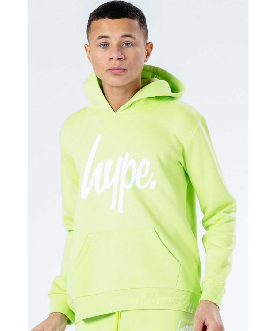 Image for Hype Neon Script Kids Pullover Hoodie