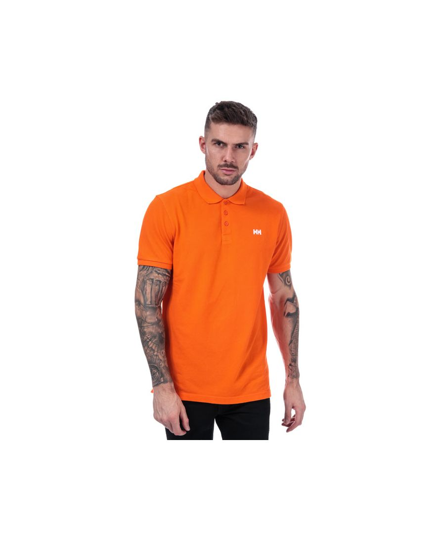 Image for Men's Helly Hansen Transat Polo Shirt in Orange