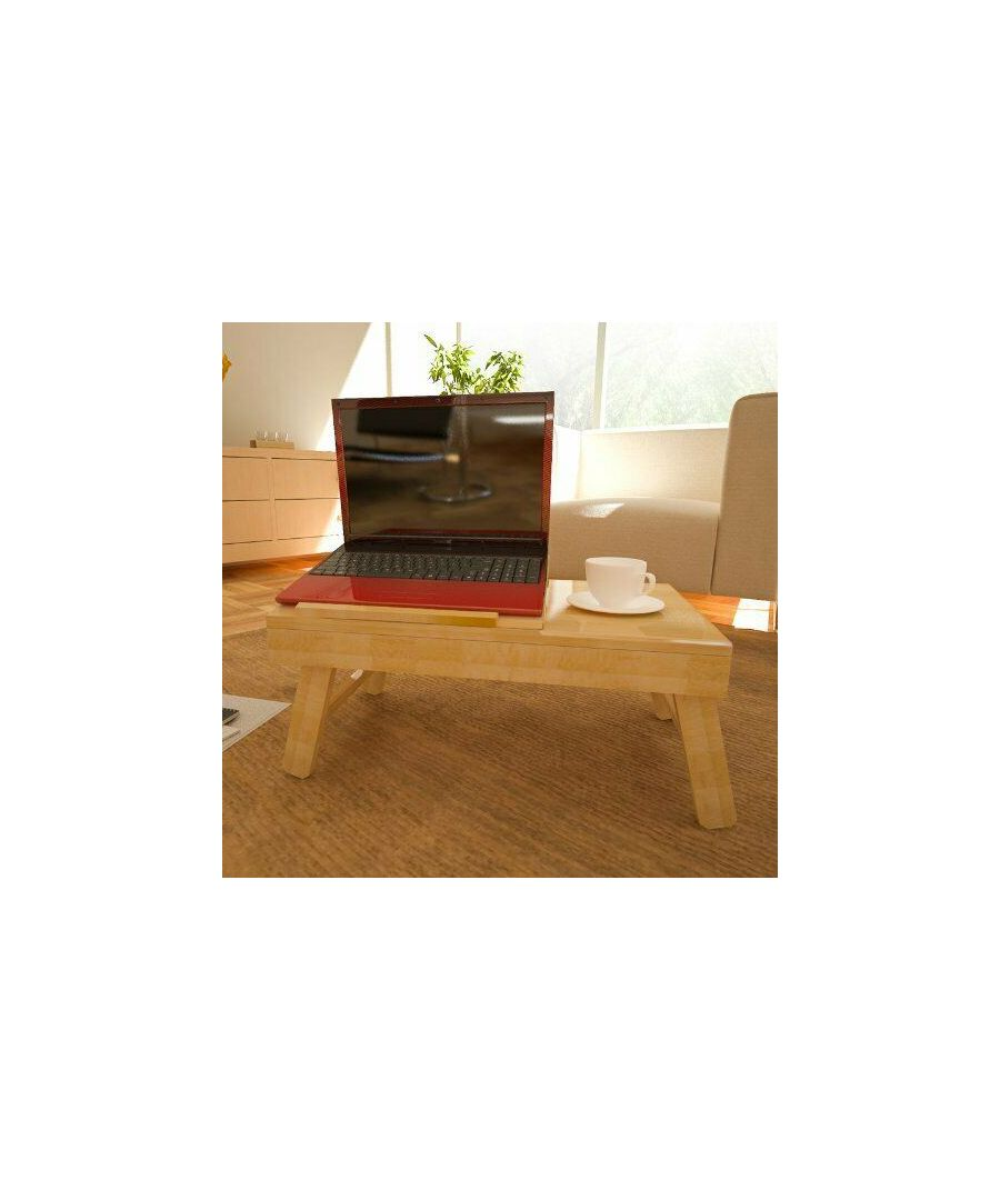 Image for Furinno FNCL-33009 Bamboo AdJustable Notebook Lapdesk, Natural