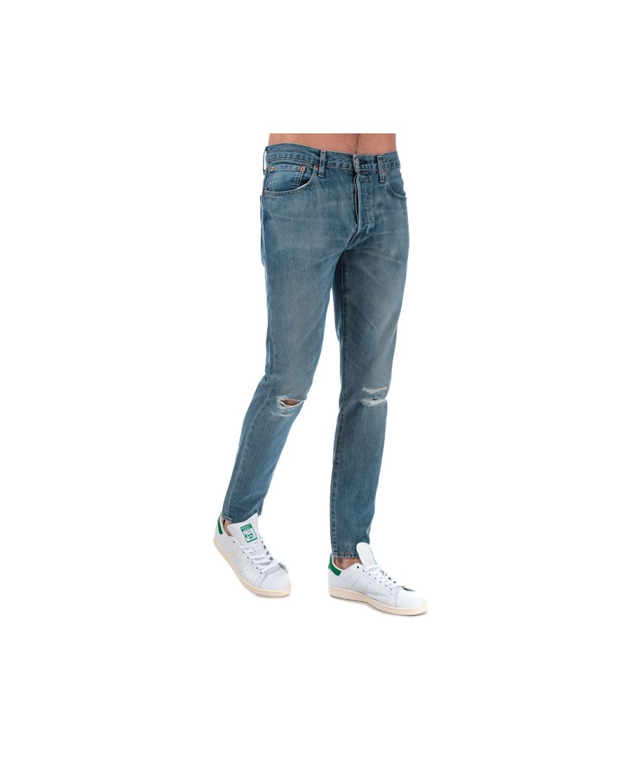 Image for Men's Levis 501 Skinny Jeans in Denim