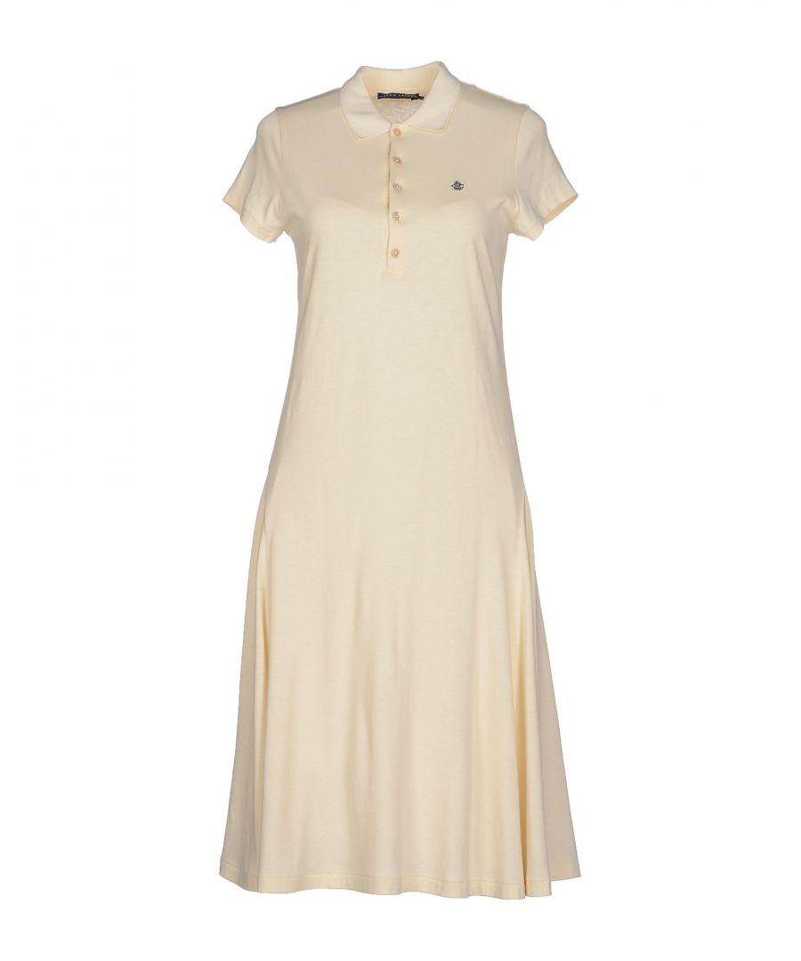 Image for Polo Ralph Lauren Beige Cotton Polo Dress