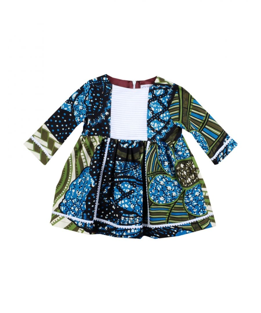 Image for Stella Jean Girl Dresses Blue Cotton