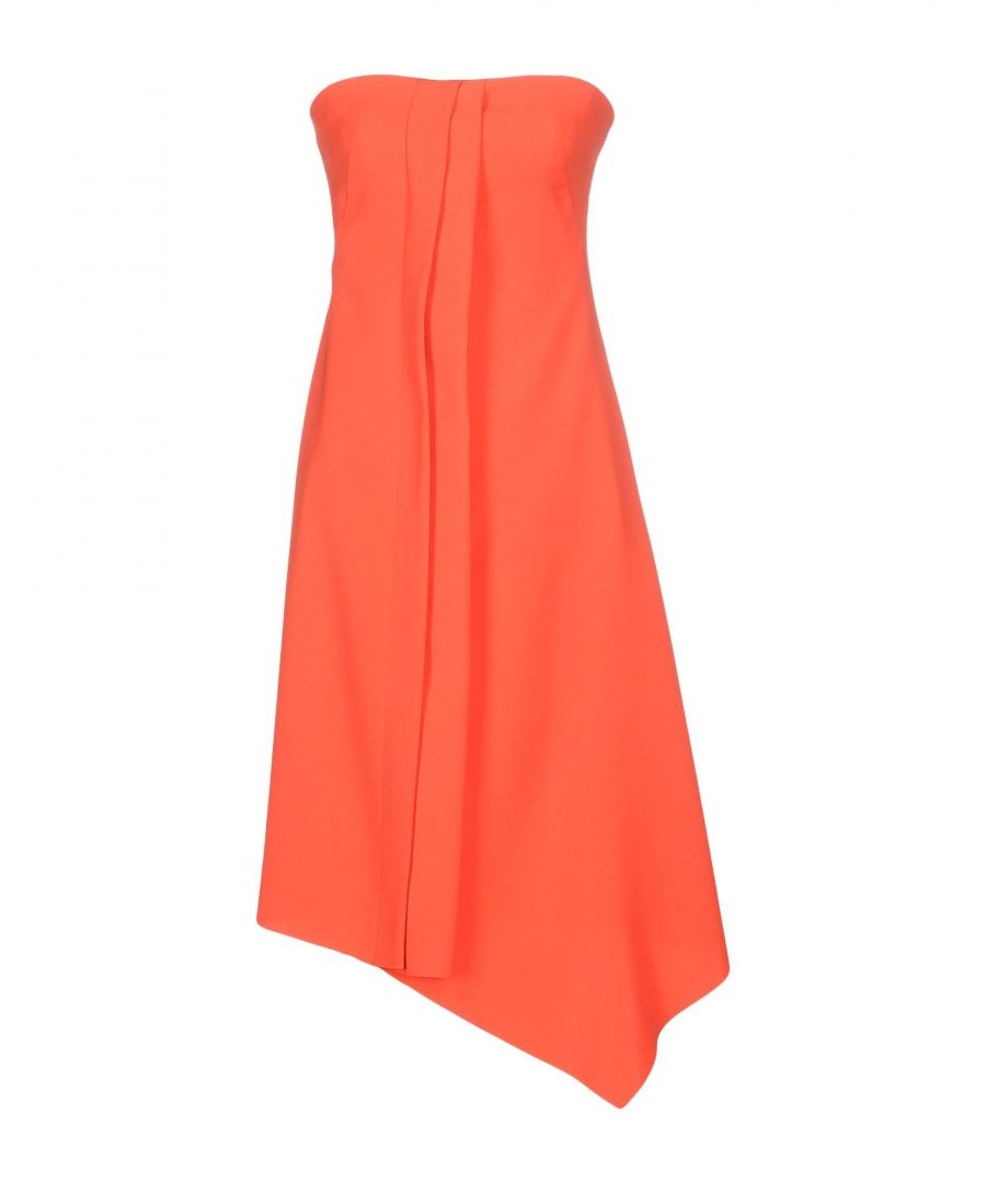 Image for Cedric Charlier Orange Dress