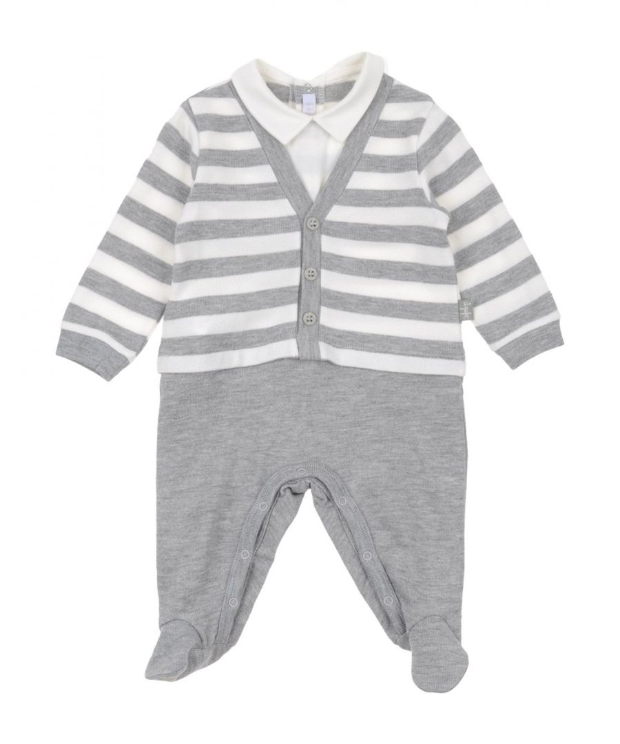 Image for BODYSUITS & SETS Boy Il Gufo Light grey Viscose