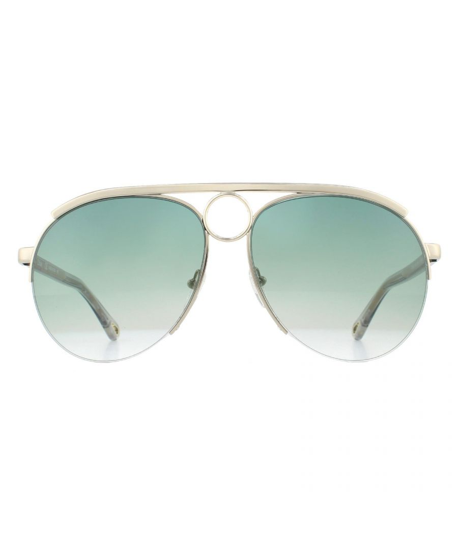 Image for Chloe Sunglasses CE152S 838 Gold Blue Gradient