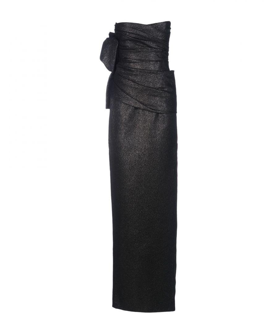 Image for Dsquared2 Black Wool Full Length Dress