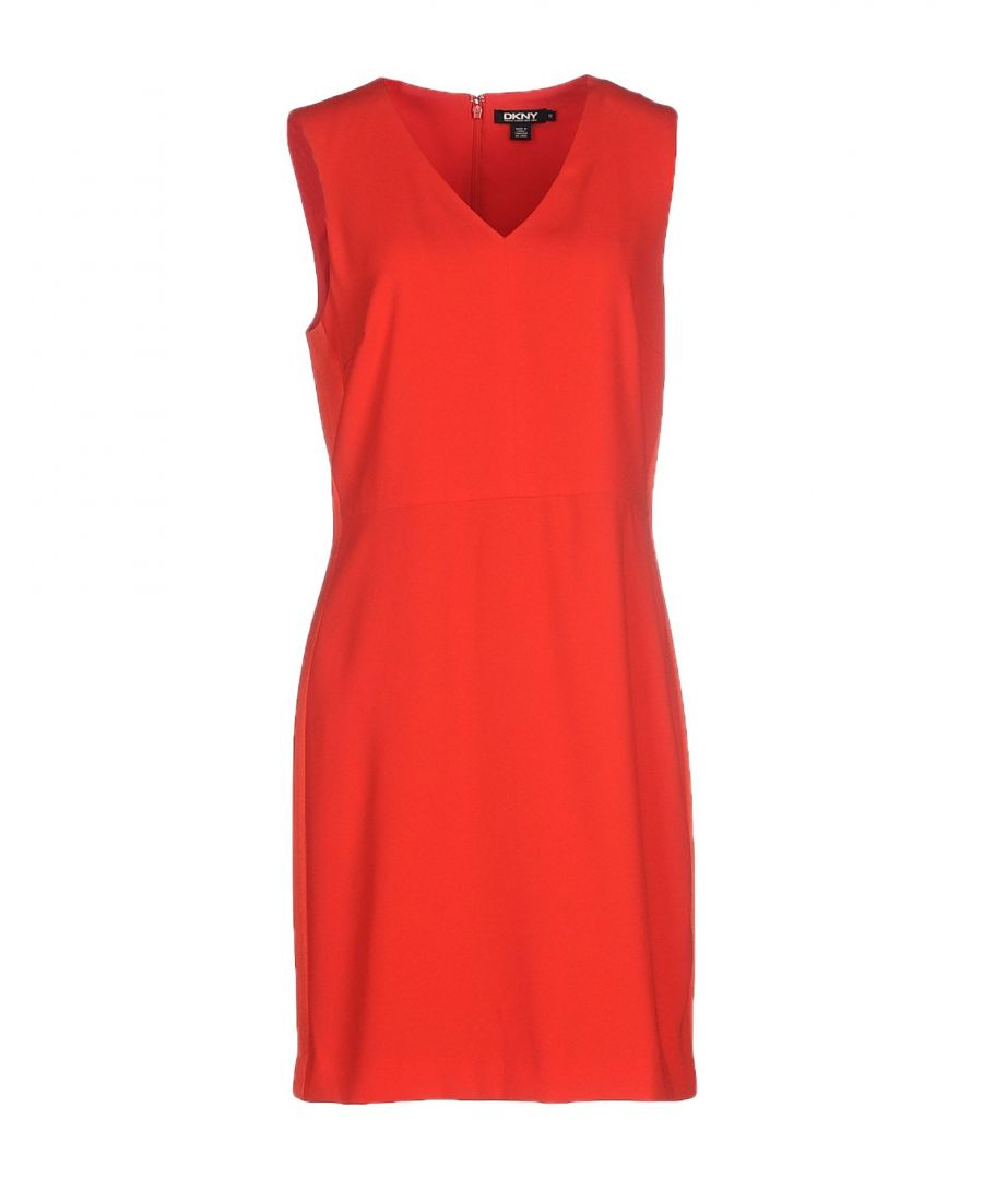 Image for DRESSES Dkny Red Woman Triacetate
