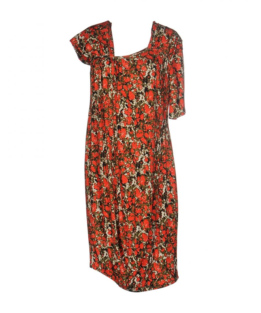 Image for M Missoni Red Print Dress
