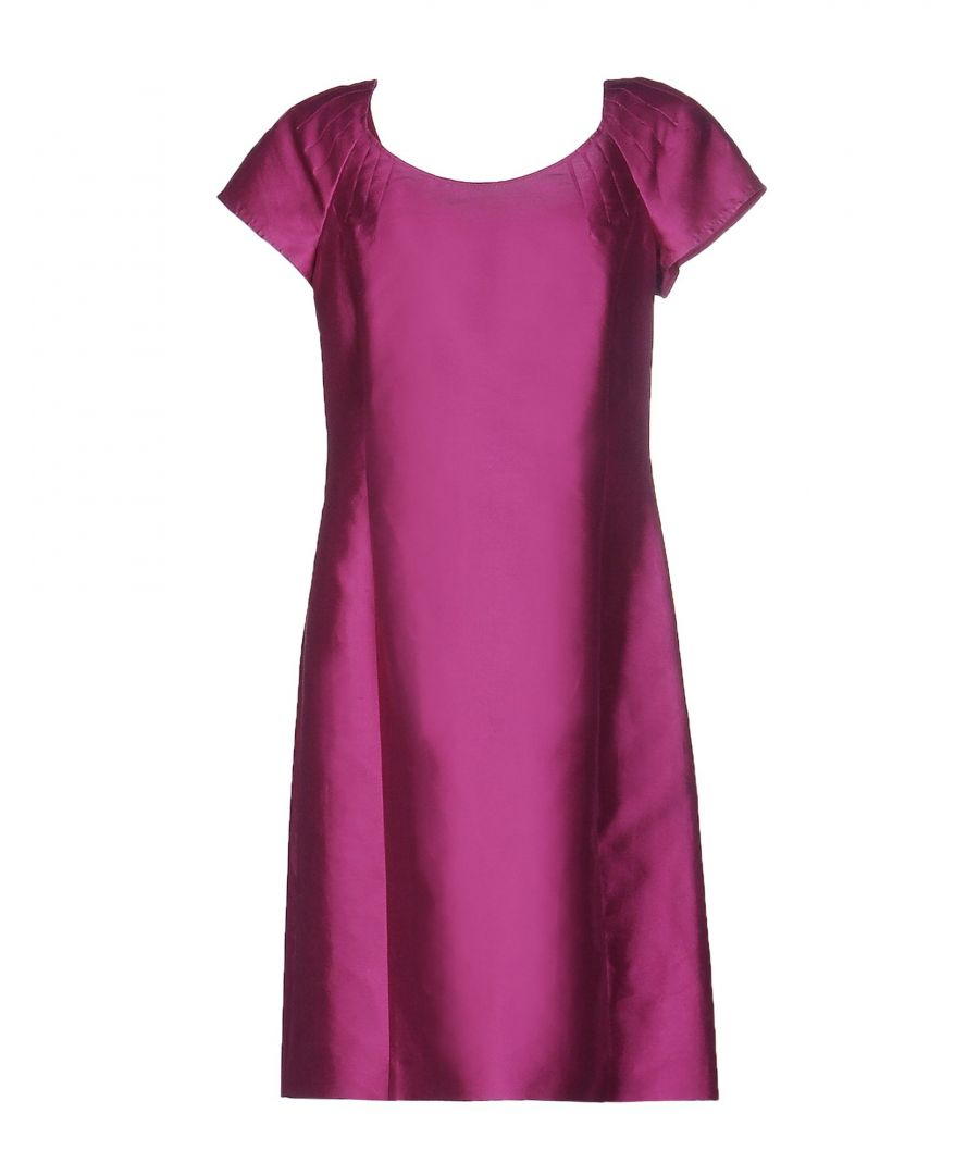Image for Armani Collezioni Garnet Silk Dress