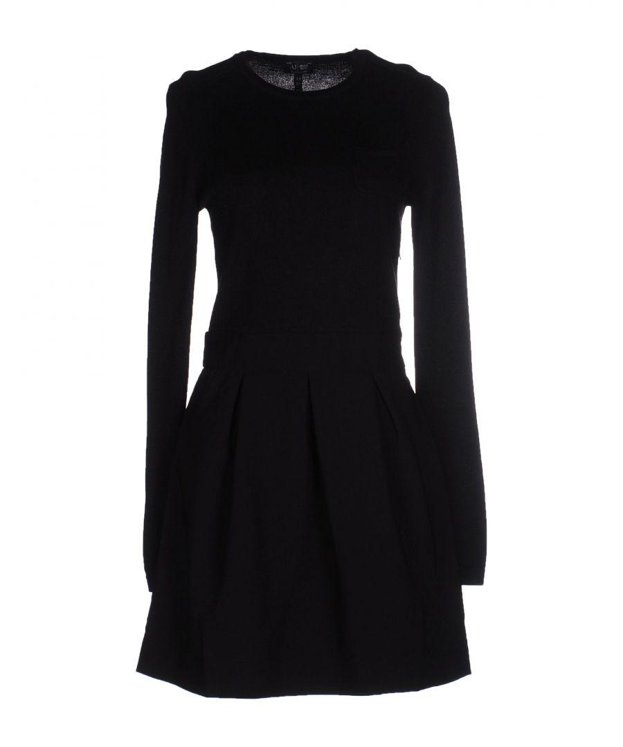 Image for Armani Jeans Black Long Sleeve Dress