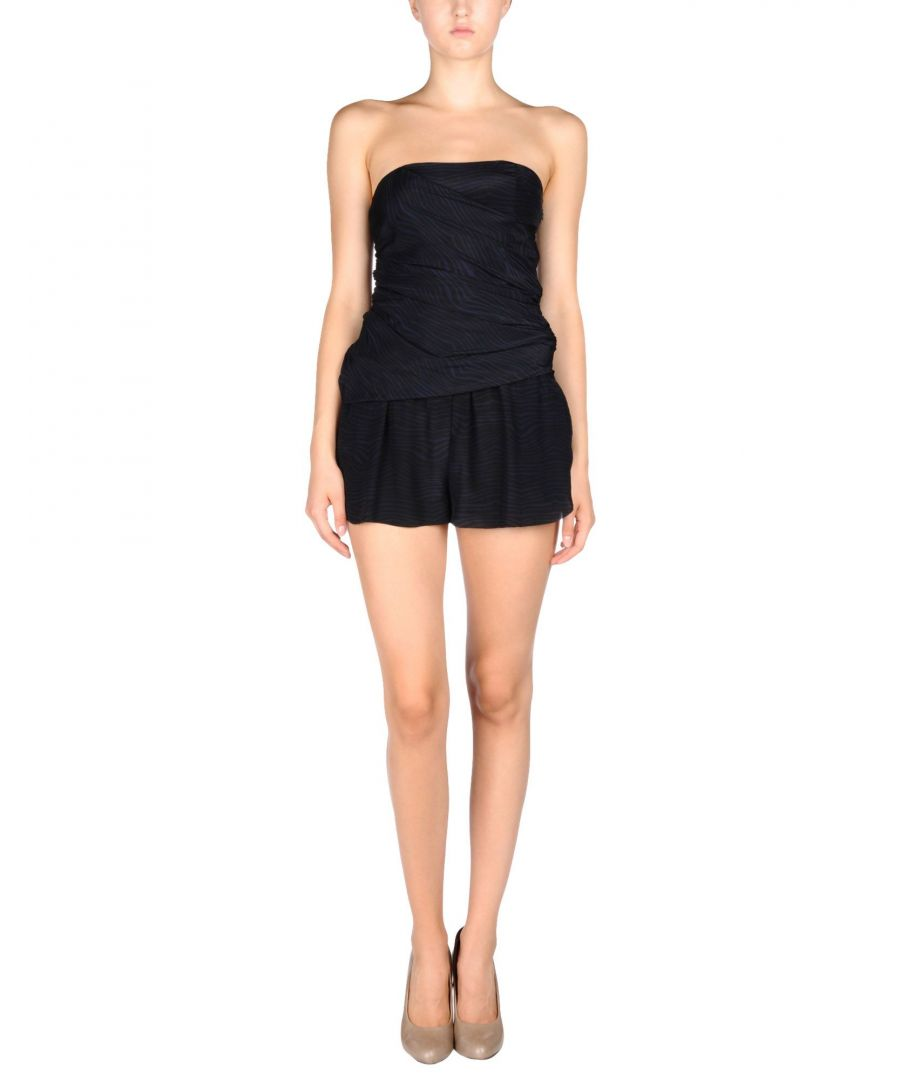 Image for Pierre Balmain Black Silk Playsuit