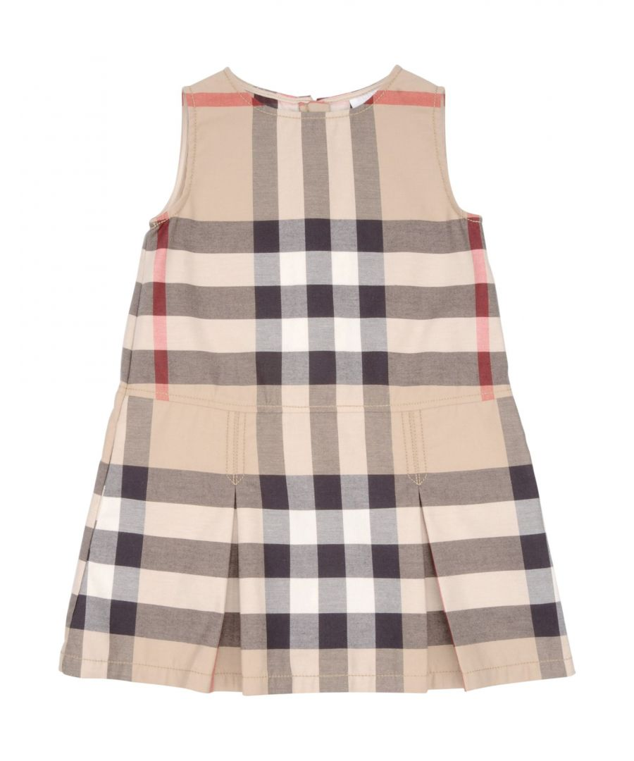 Image for DRESSES Burberry Beige Girl Cotton