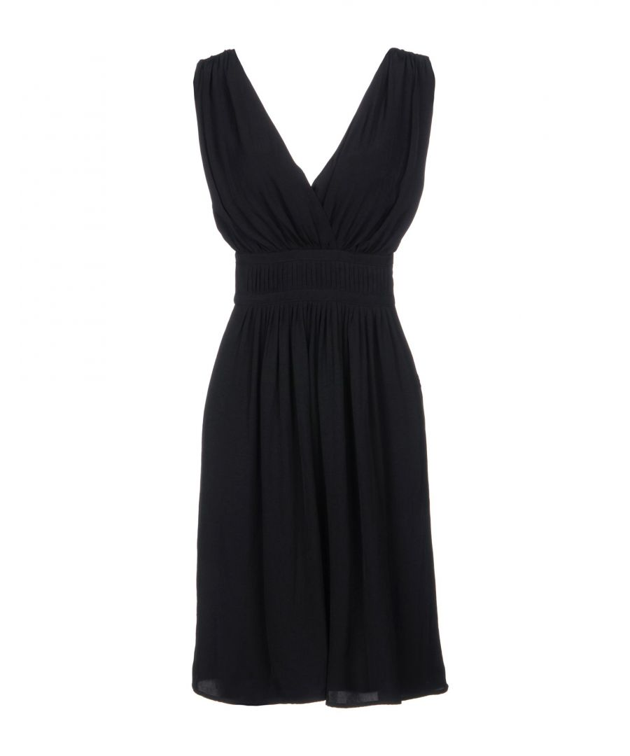 Image for Isabel Marant Etoile Black V Neckline Dress