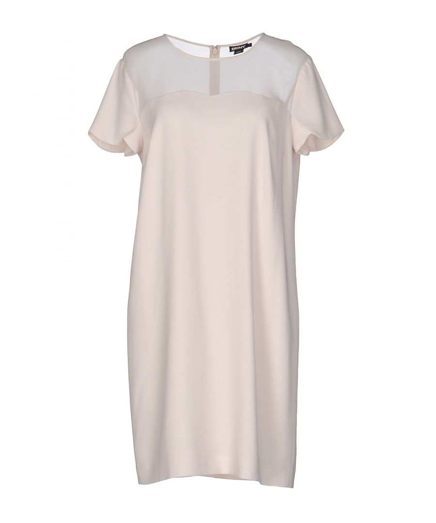 Image for DRESSES Dkny Ivory Woman Triacetate