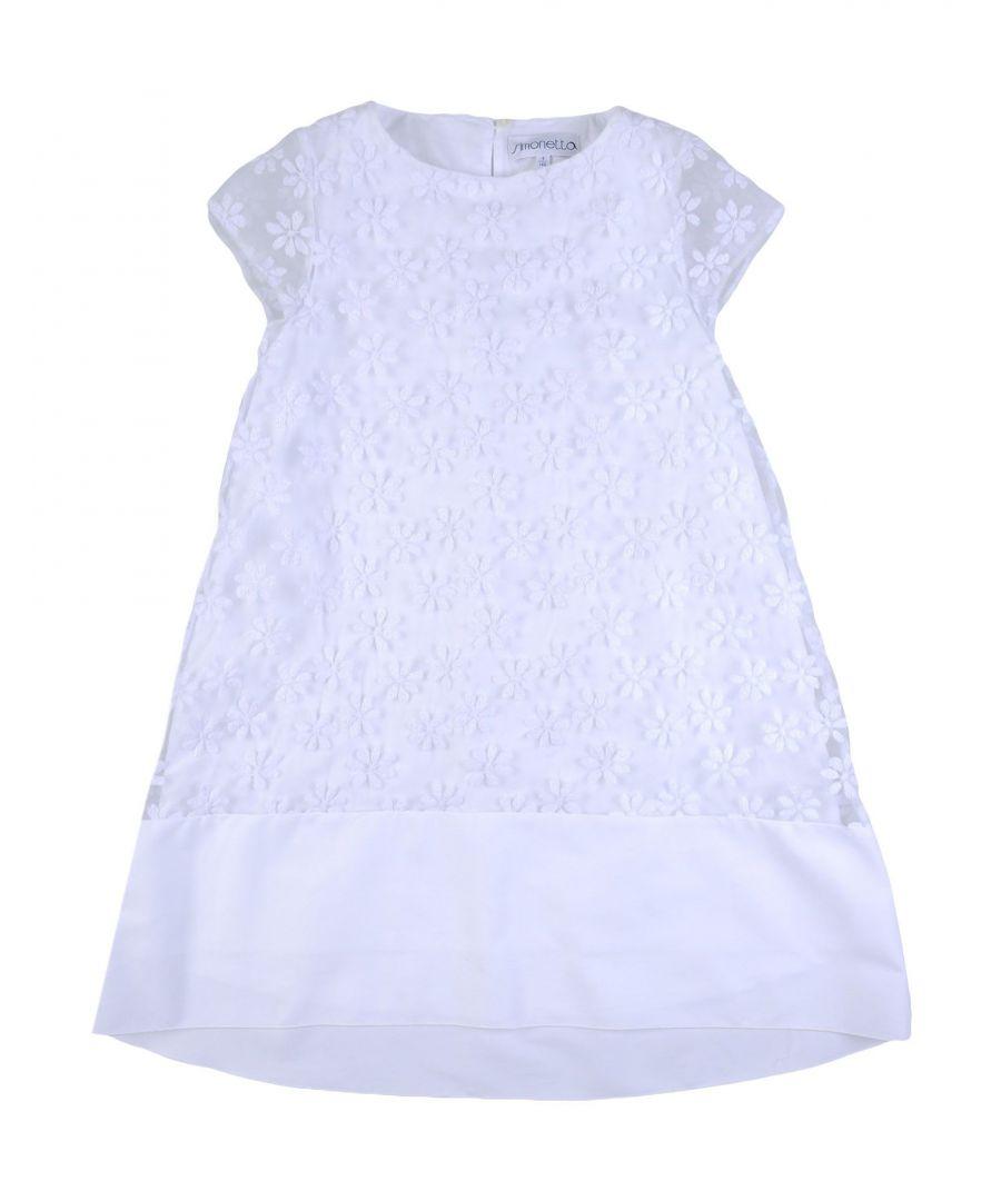 Image for DRESSES Simonetta White Girl Polyester