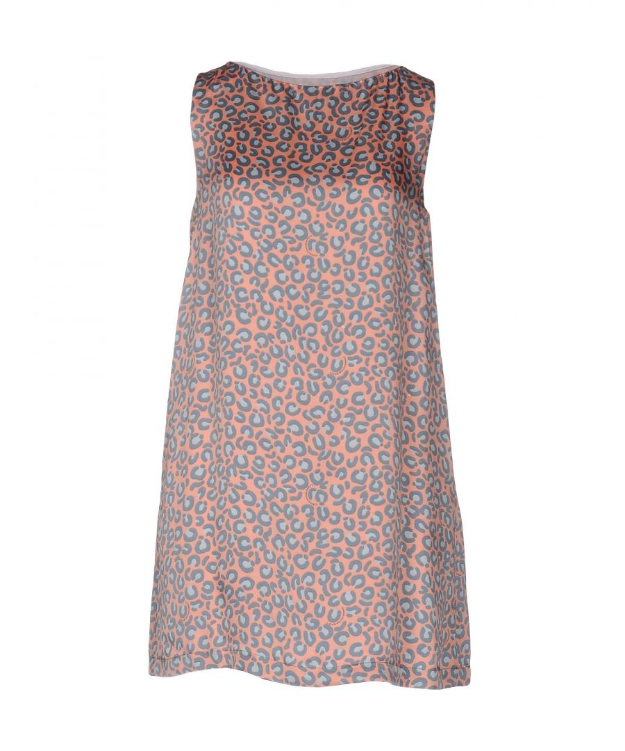 Image for DRESSES Love Moschino Salmon pink Woman Viscose