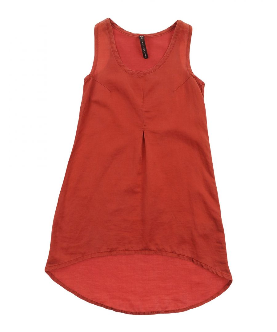 Image for DRESSES Manila Grace Brick red Girl Cotton