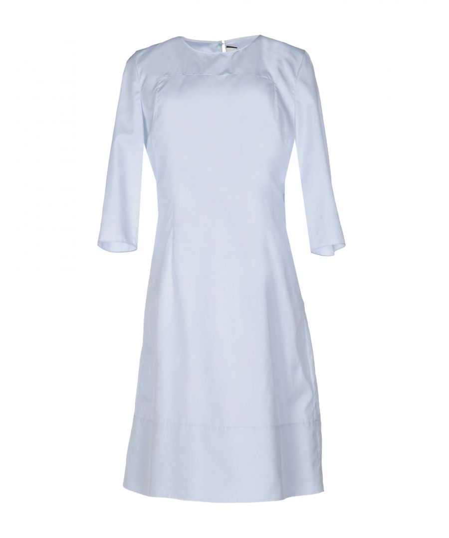 Image for Marni Light Grey Silk Knee-length Dress