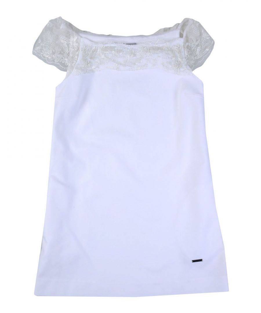 Image for Dsquared2 White Cotton Dress