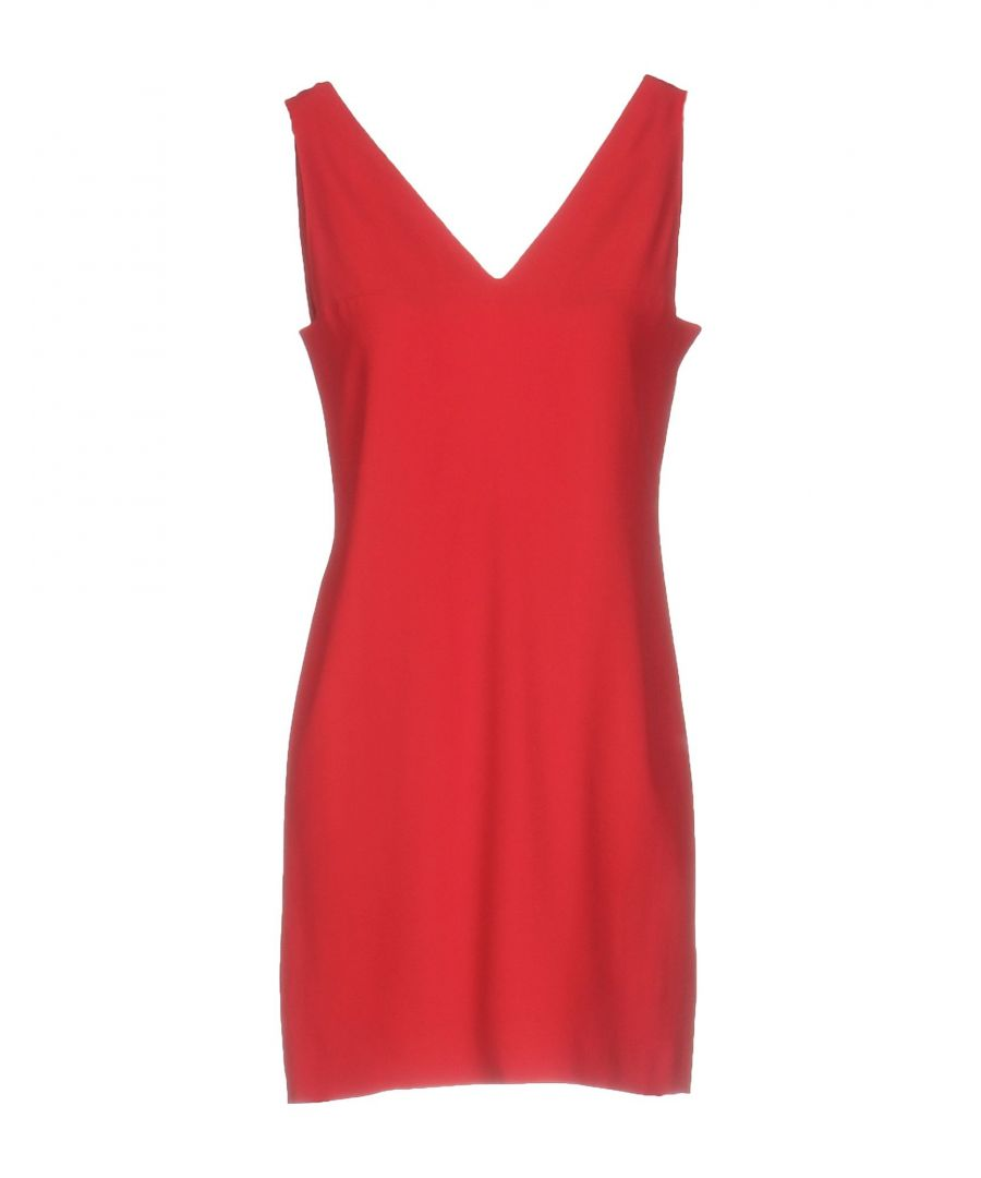 Image for Dondup Brick Red Dress