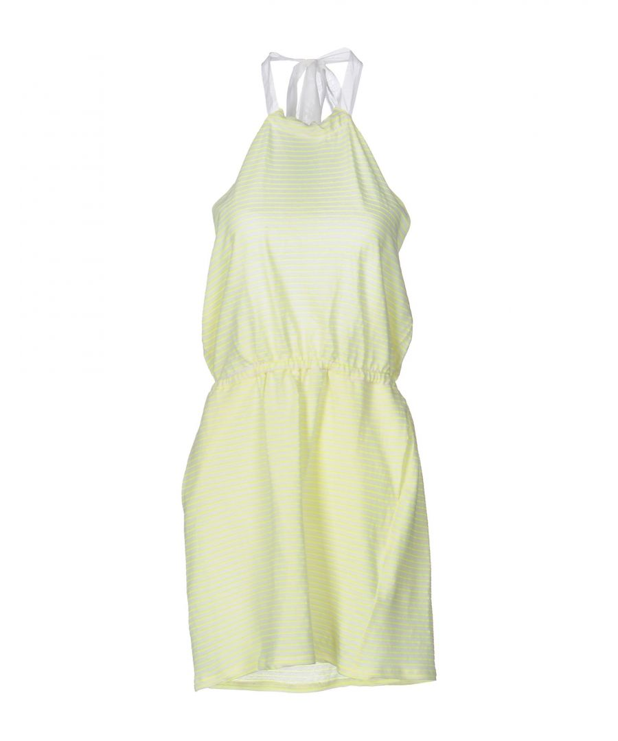 Image for Mauro Grifoni Yellow Cotton Dress
