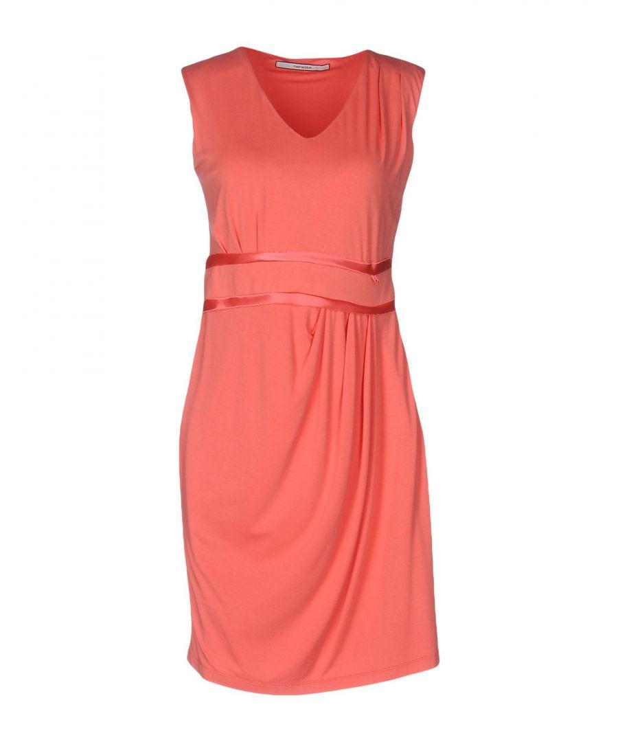 Image for Nenette Coral Jersey Sleeveless Short Dress