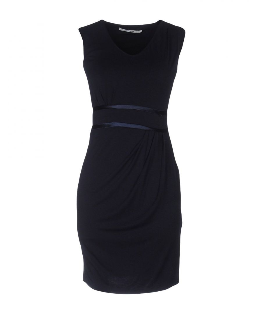 Image for Nenette Women's Short Dress Dark Blue Viscose