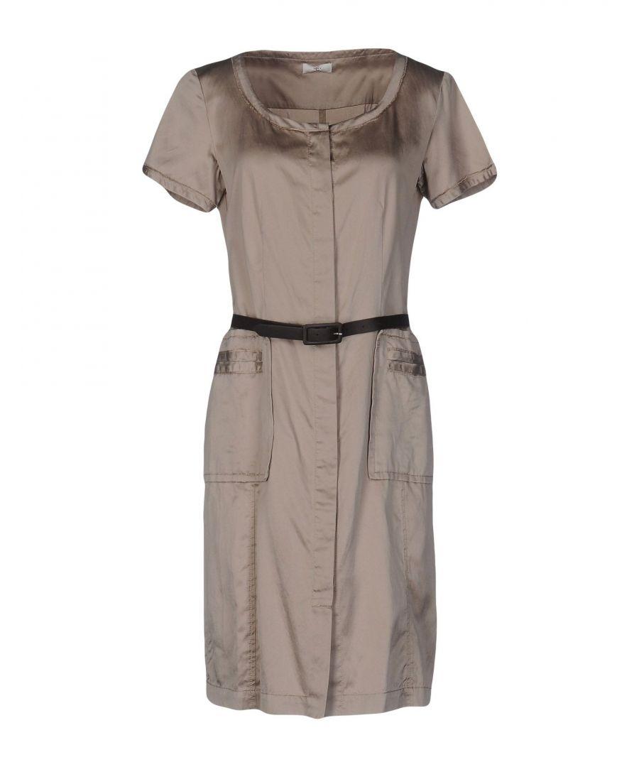 Image for Cerruti 1881 Woman Knee-length dresses Beige Silk
