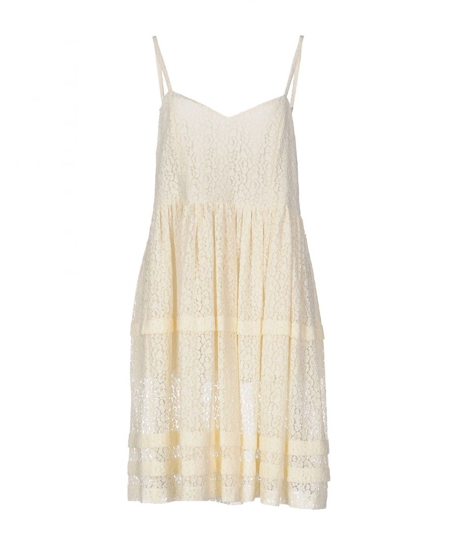 Image for L' Autre Chose Ivory Polyamid Short dresses