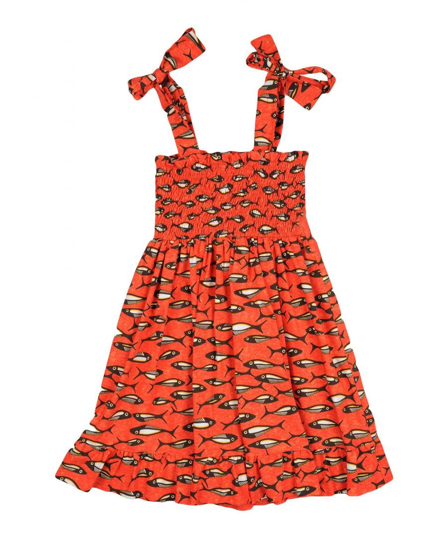 Image for Stella Jean Girls' Red Cotton Dress