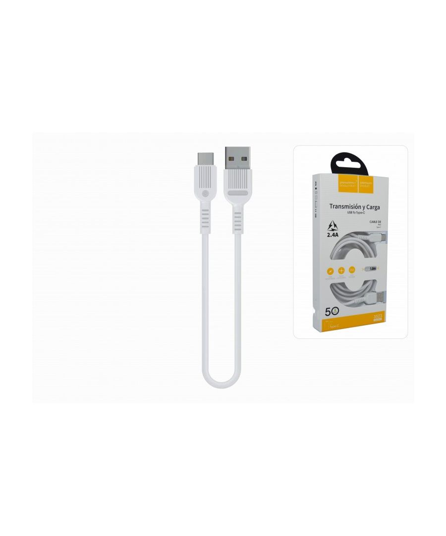 Image for USB-C Cable Quick Charge 2.4A 100cm PVC Cover