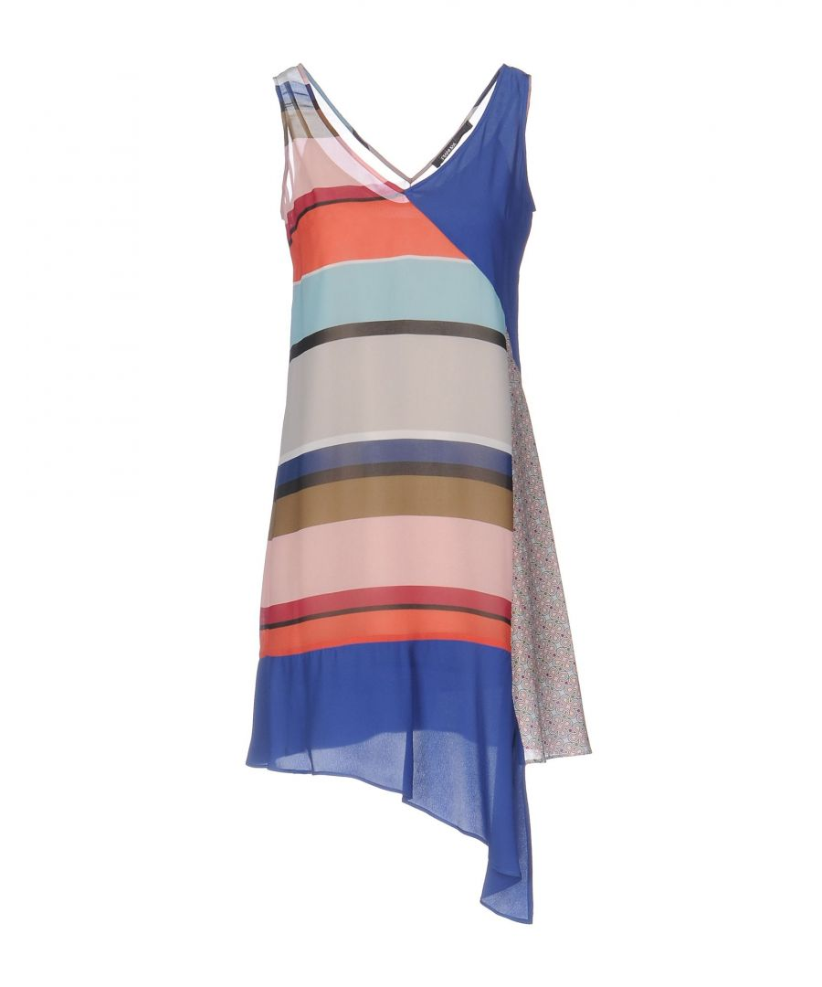 Image for Pianurastudio Grey Stripe Dress