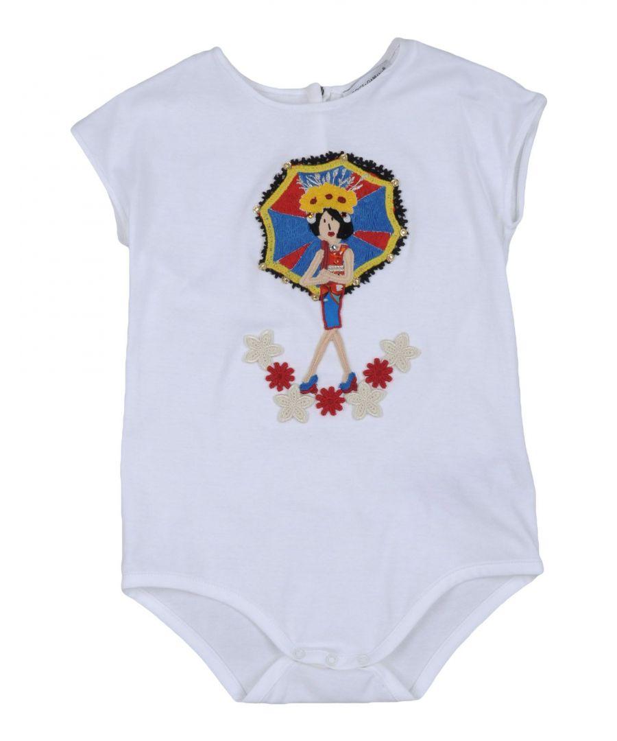 Image for BODYSUITS & SETS Girl Dolce & Gabbana White Cotton