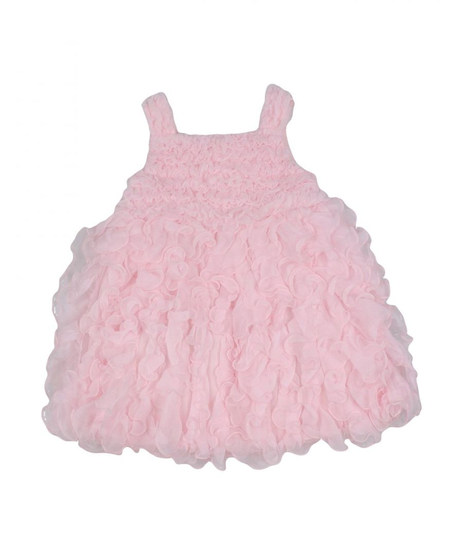 Image for Aletta Pink Girl Silk Dress