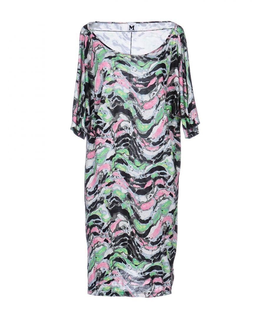 Image for M Missoni Light Green Print Dress