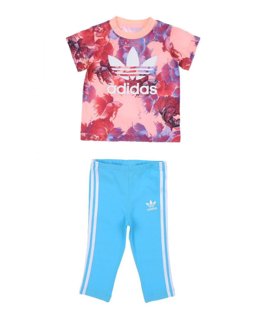 Image for Adidas Originals Pink & Blue Set