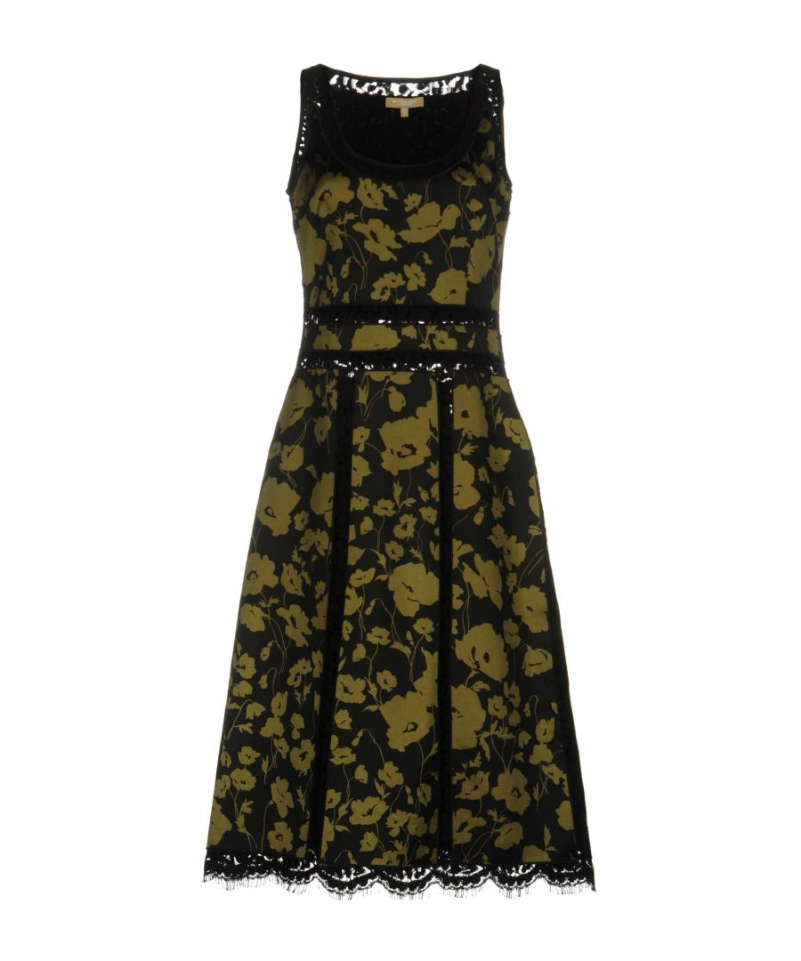 Image for DRESSES Michael Kors Collection Military green Woman Silk