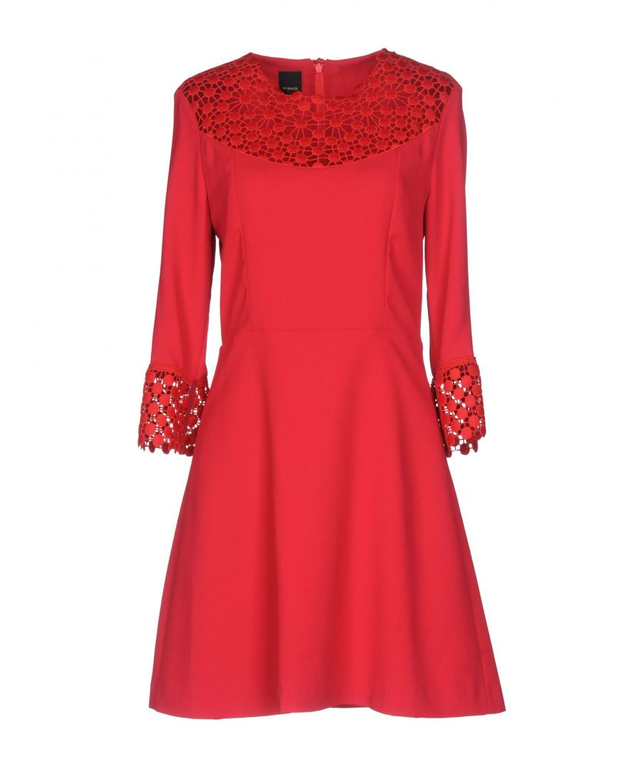Image for Pinko Red Long Sleeve Dress
