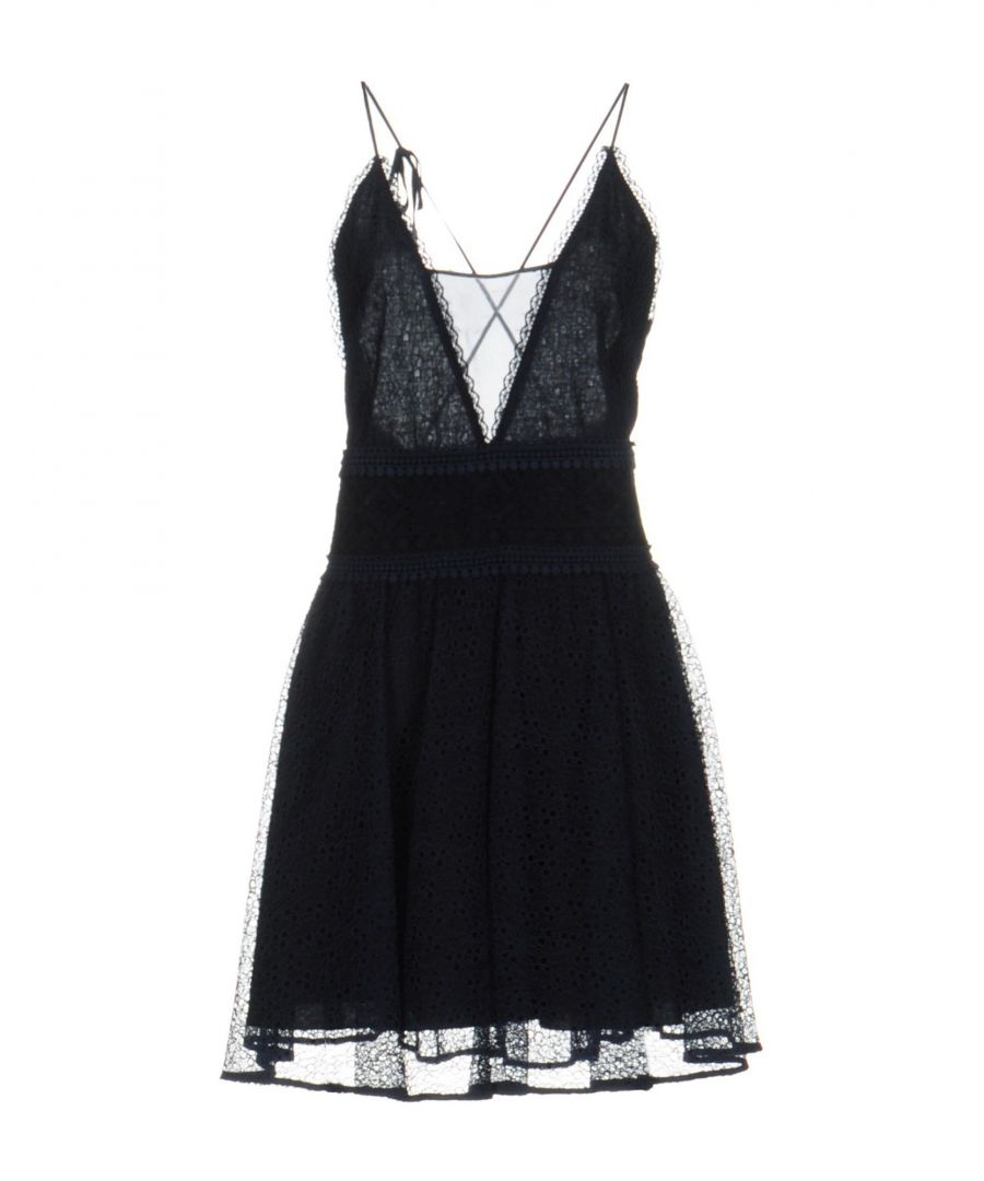 Image for Pinko Dark Blue Short Dress