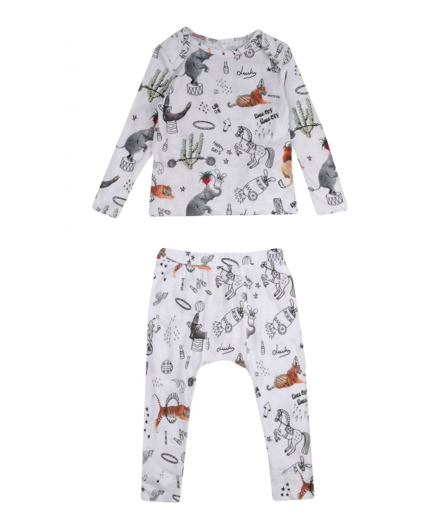 Image for BODYSUITS & SETS Stella Mccartney Kids White Boy Cotton