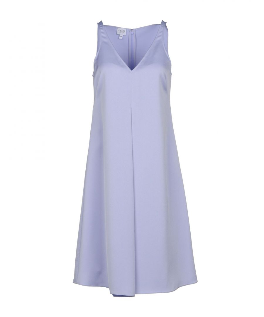 Image for Armani Collezioni Lilac Sleeveless Dress