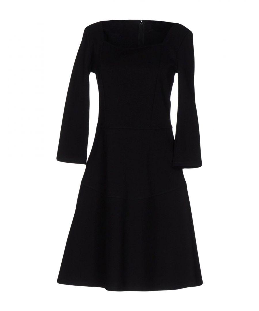 Image for Patrizia Pepe Black Long Sleeve Dress