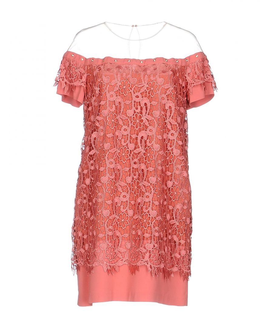 Image for DRESSES Atos Lombardini Pastel pink Woman Viscose
