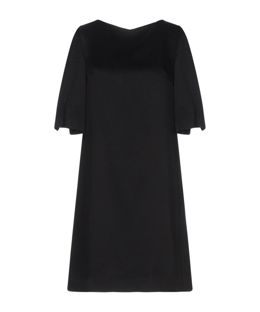 Image for Byblos Black Short Sleeve Dress