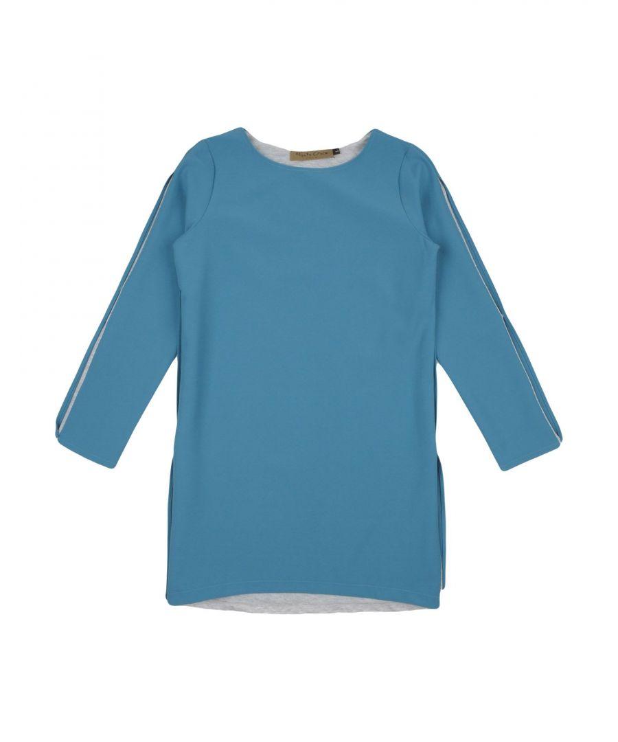 Image for DRESSES Girl Manila Grace Denim Sky blue Polyester